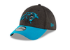Men's NFL Carolina Panthers Official Sideline 39THIRTY Stretch Fit Home Cap