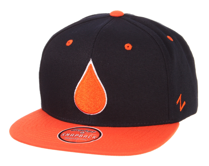 Un1ted + Zephyr Men's NHL Oil Drop Snapback Cap