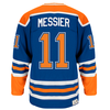 Men's NHL Edmonton Oilers Mark Messier Heroes of Hockey Authentic Jersey