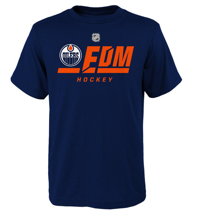 Junior NHL Edmonton Oilers On Ice T-Shirt