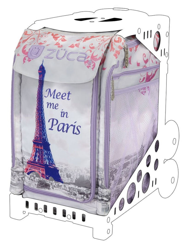ZÜCA Embellished Skate Bag Insert Meet Me In Paris