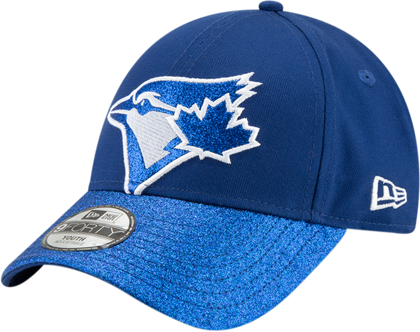 Girl's MLB Toronto Blue Jays Shimmer Shine Cap
