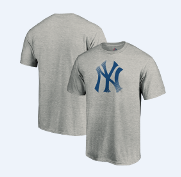 Men's MLB New York Yankees Slash and Dash T-Shirt