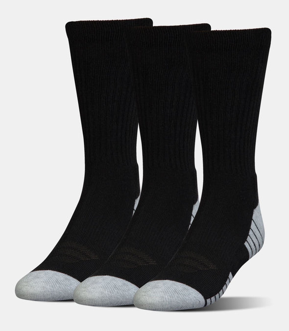 Junior HeatGear Tech Crew Socks (3 Pack)