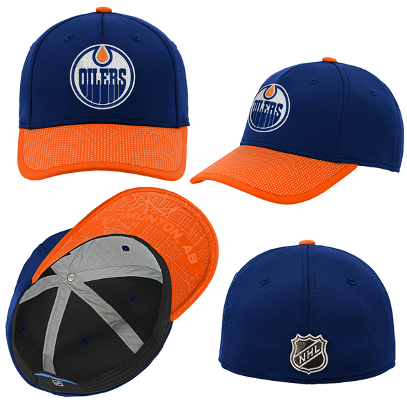 Junior NHL Edmonton Oilers 2019 Draft Flex Cap