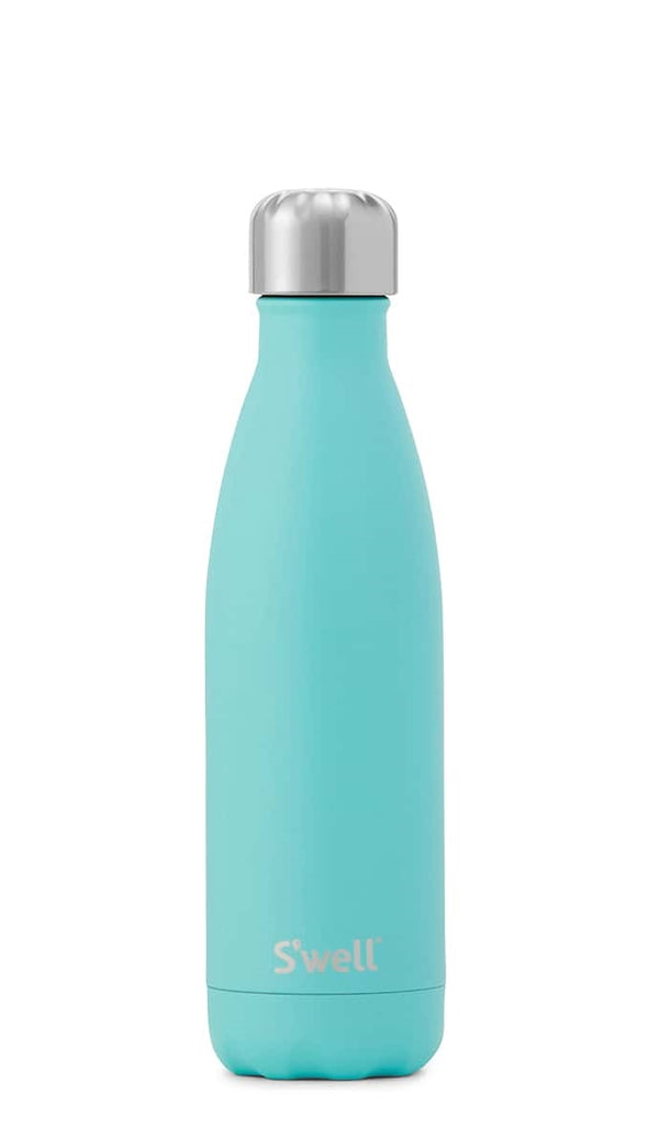 17oz Turquoise Blue Water Bottle
