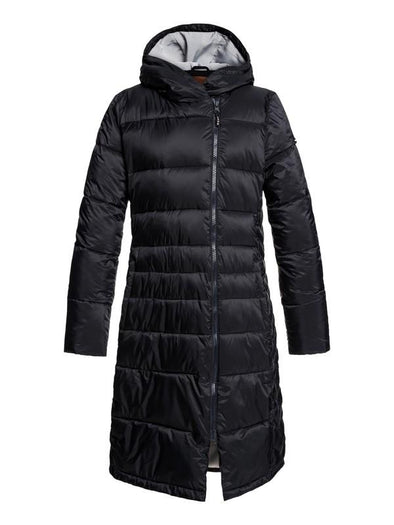 Women's Everglade Longline Hooded Waterproof Puffer Snow Jacket