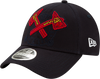 Men's MLB Atlanta Braves Logo Elements Snapback 9FORTY Adjustable Cap