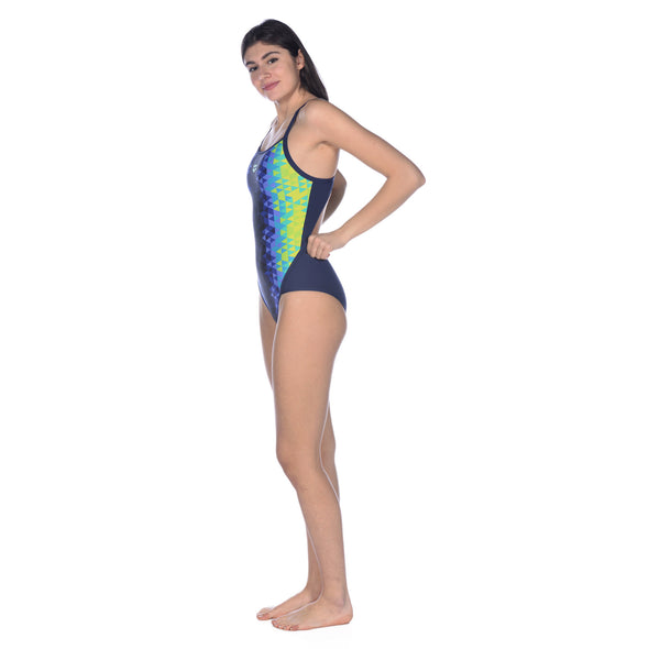 Women's Triangle Prism Superfly Back One Piece