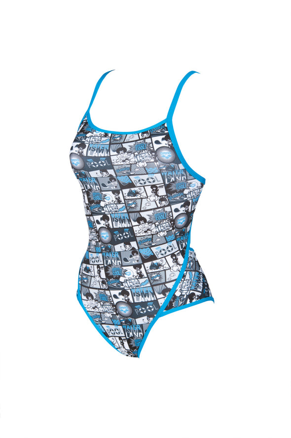 Women's Comics SuperFly Back One Piece