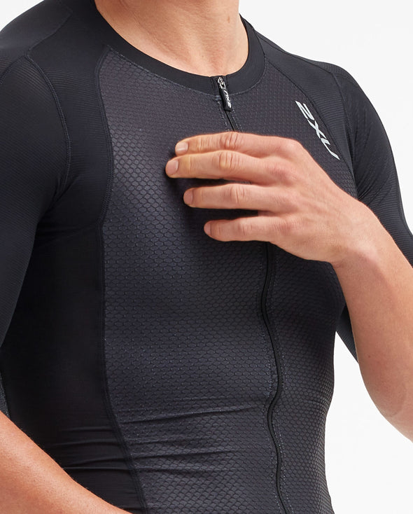 2XU Men's Compress Sleeved Tri Top