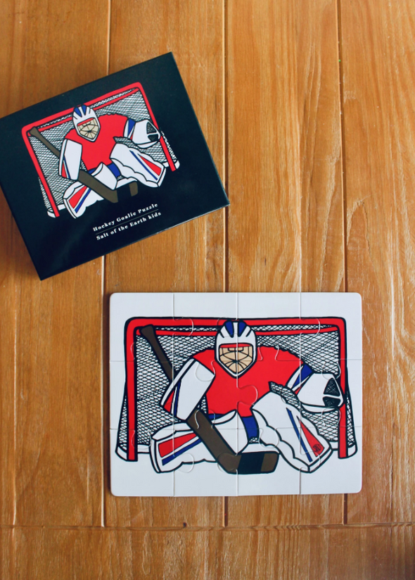 Hockey Goalie Puzzle