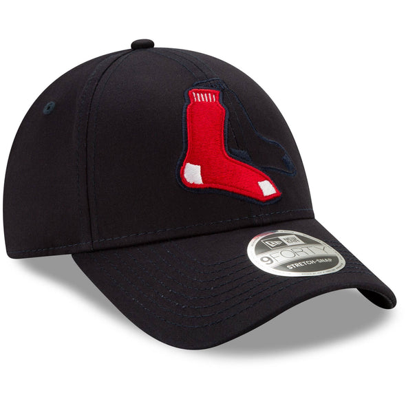 Men's MLB Boston Red Sox Logo Elements Snapback 9FORTY Adjustable Cap