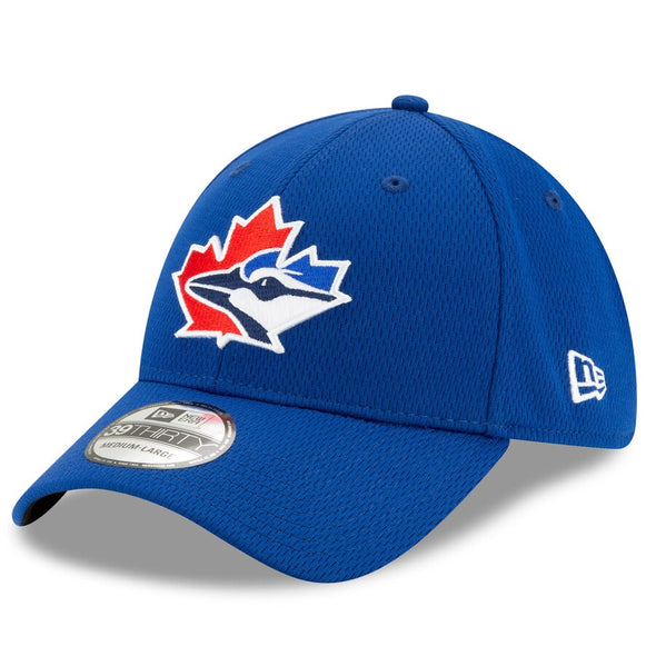 New Era Men's MLB Toronto Blue Jays 2020 Batting Practice 39THIRTY Flex Cap