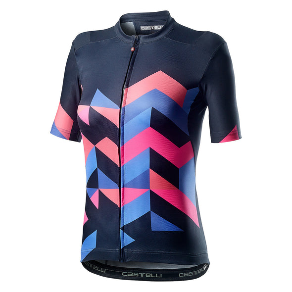 Castelli Women's Unlimited Short Sleeve Bike Jersey