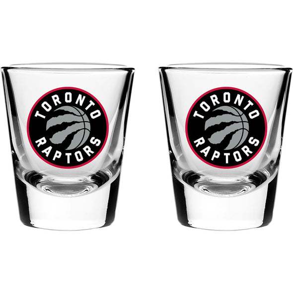 Hunter Licensed NBA Toronto Raptors 2oz Shot Glass Set Edmonton Store