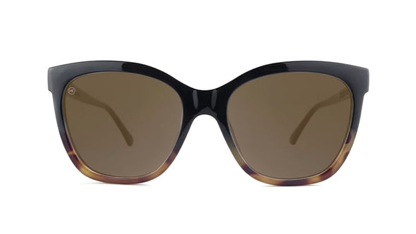 Shop Knockaround Deja Views Sunglasses Glossy Black / Blonde Tortoiseshell Fade Edmonton Canada