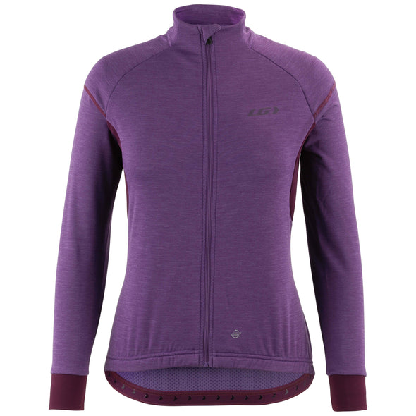 Louis Garneau Women's Thermal Edge DWR Long Sleeve Cycling Jersey Edmonton Store