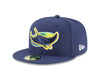 shop New Era Men's MLB AC 59FIFTY Tampa Bay Rays Alternate Fitted Cap hat edmonton canada