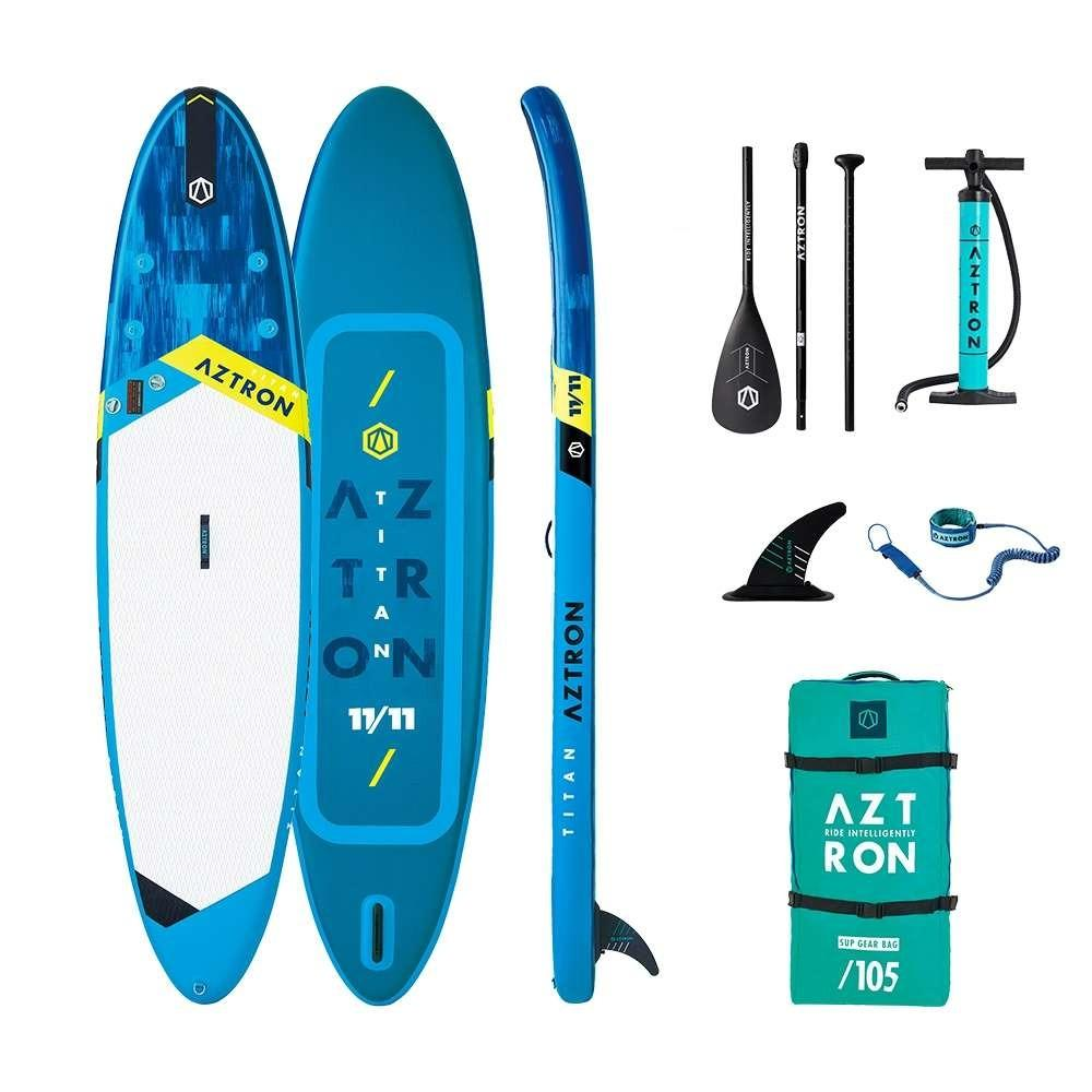 Shop Aztron Titan All Around 11 Ft 11 Inflatable Stand Up Paddle Board (SUP) Edmonton Canada