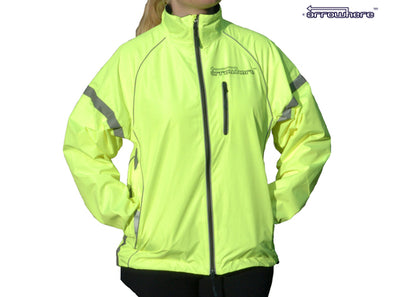 Arrowhere Women's Waterproof LED Biking Jacket