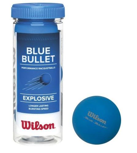 Wilson Blue Bullet Racquetball Ball