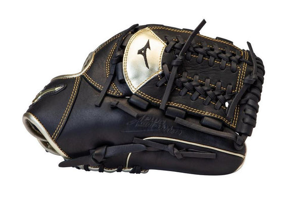 Shop Mizuno 11.75 Inch Senior MVP Prime SE GMVP1175PSE8 Baseball Fielding Glove Edmonton Canada. In black and gold