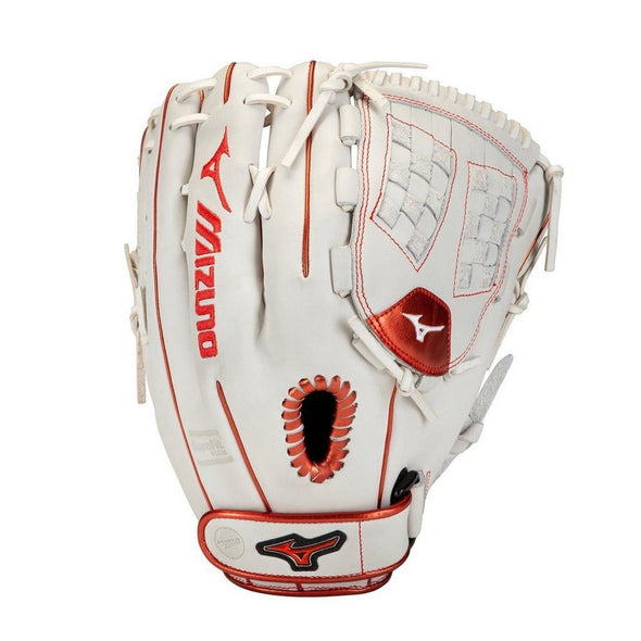 Shop Mizuno 12 Inch Senior MVP Prime SE Fastpitch GMVP1200PSEF8 Fastpitch Softball Fielding Glove Edmonton Canada in Red