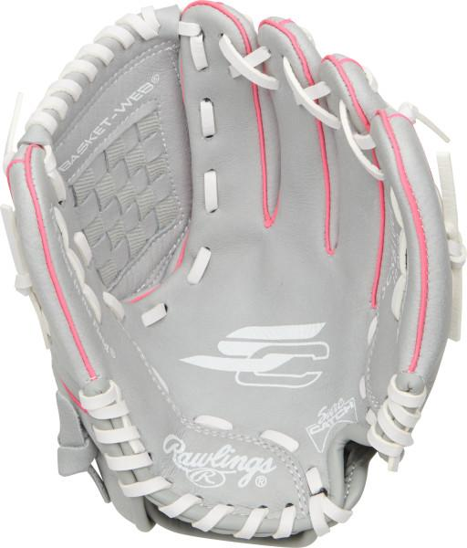 Shop Rawlings 10 Inch Youth Sure Catch SCSB100P Kids Fastpitch Softball Glove Edmonton Canada