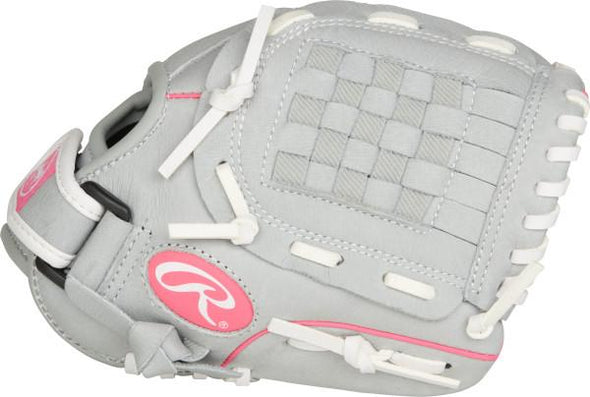 "Shop Rawlings 10"" Youth Sure Catch SCSB100P Kids Fastpitch Softball Glove Edmonton Canada"