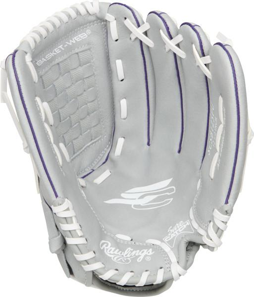 "Shop Rawlings 12.5"" Youth Sure Catch SCSB125PU Kids Fastpitch Softball Glove Edmonton Canada"