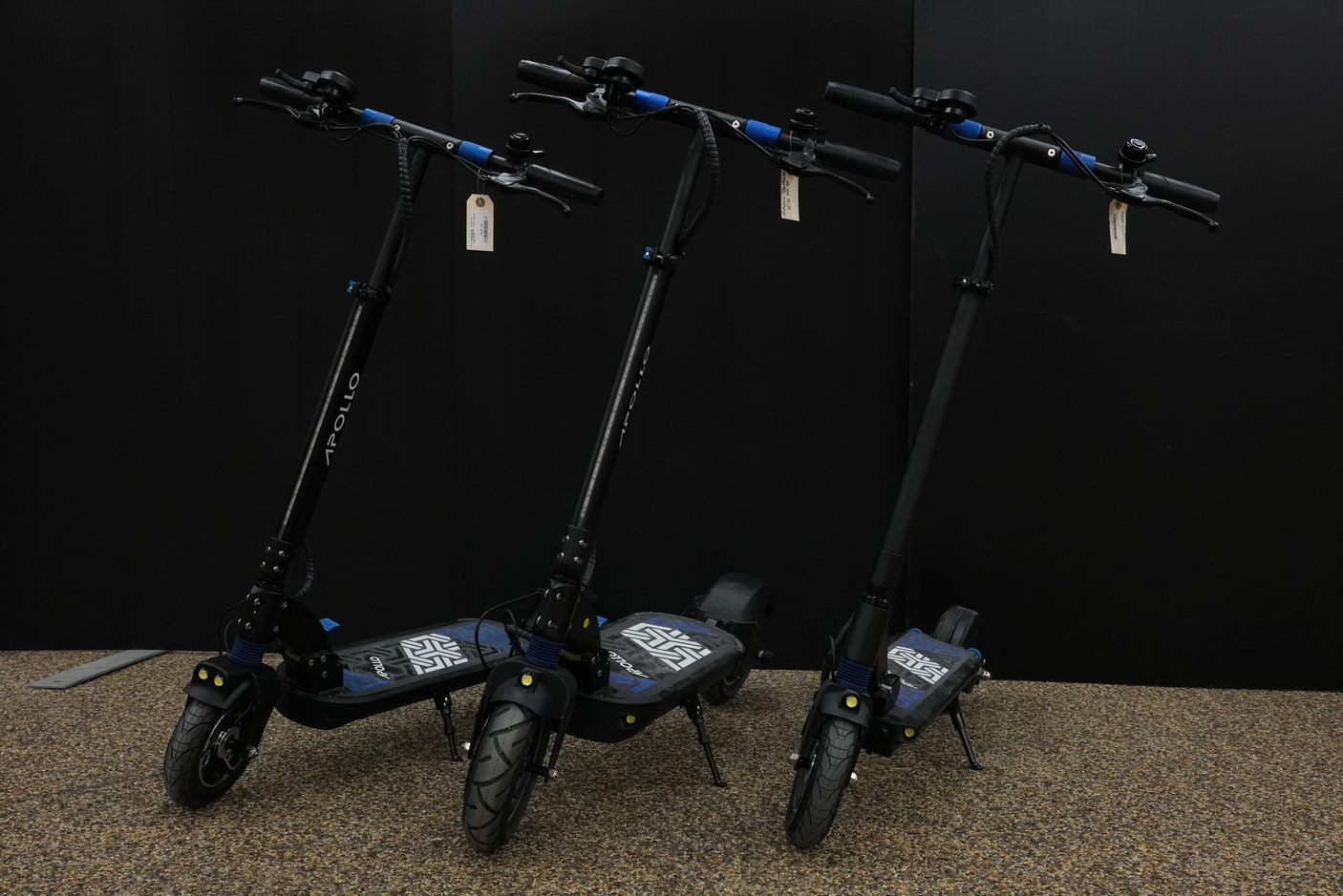 apollo electric scooters city light pro commuter scooter