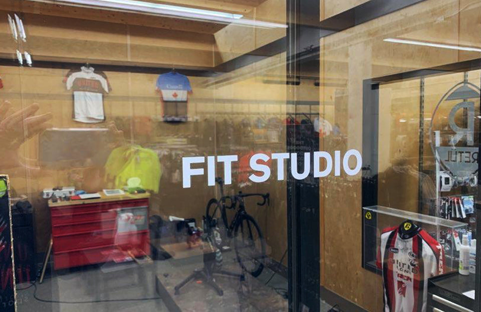 Bike Fit Studio Shop Store Edmonton Canada