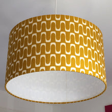 Load image into Gallery viewer, Wavelength Mustard Lampshade