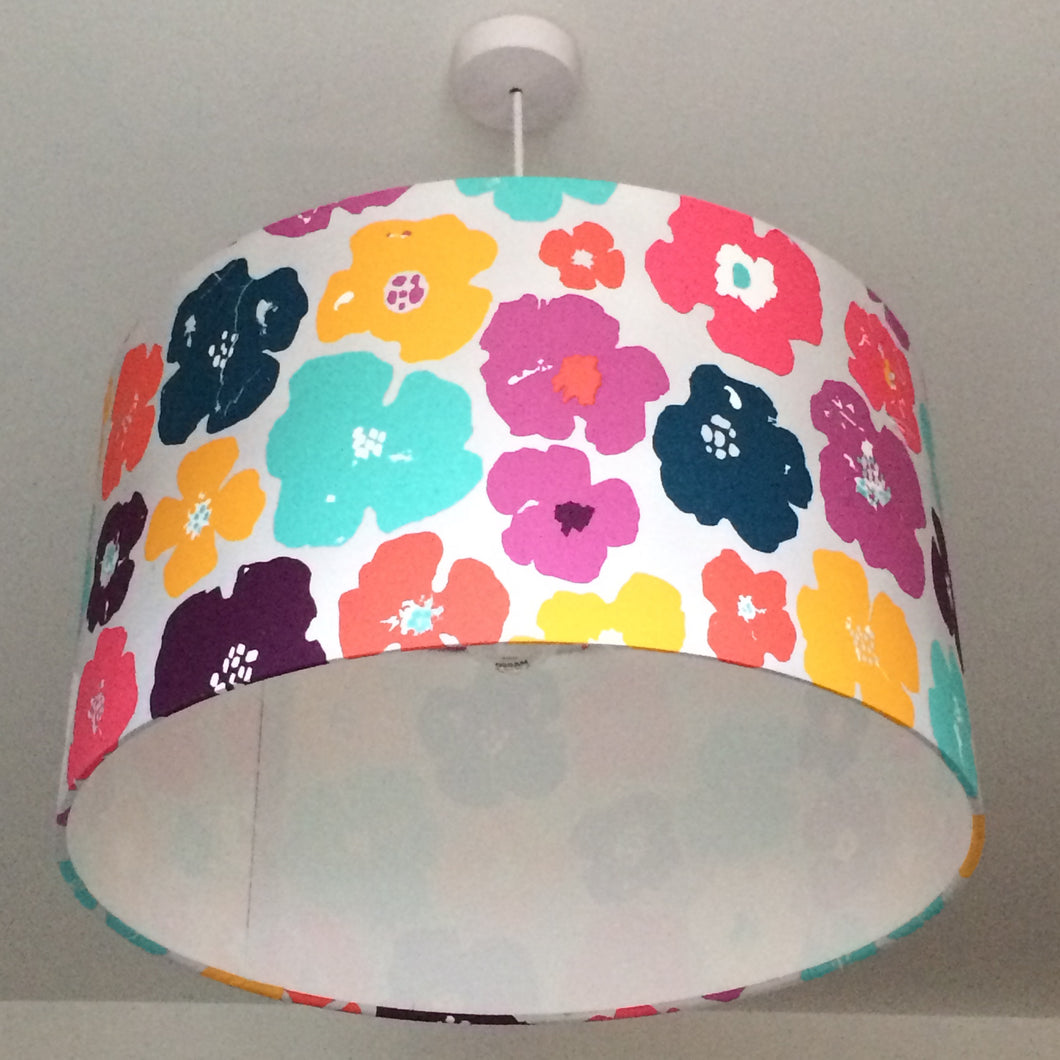 Summer Flowers Lampshade