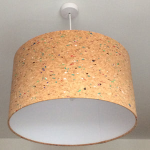 Cork Paint Lampshade