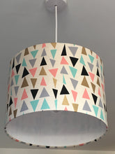 Load image into Gallery viewer, Tri Met Gold Lampshade