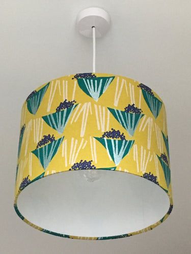 Bouquet Mustard Lampshade