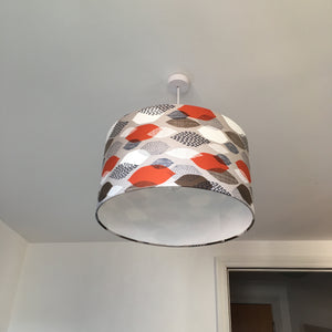 Leaves Orange Lampshade