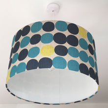 Load image into Gallery viewer, Big Blue Spots Lampshade