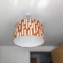 Load image into Gallery viewer, Mustard Dash Lampshade