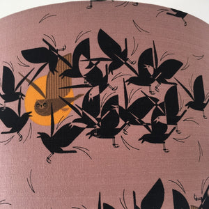 Flock Lampshade