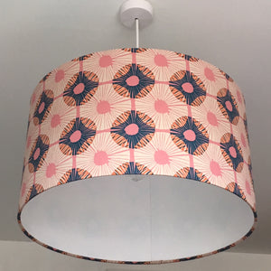 Autumn Pinks Lampshade