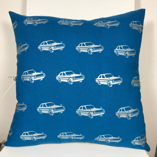 Cars Blue Cushion