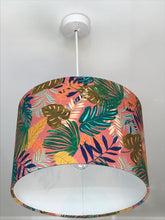 Load image into Gallery viewer, Tropical Leaves Lampshade