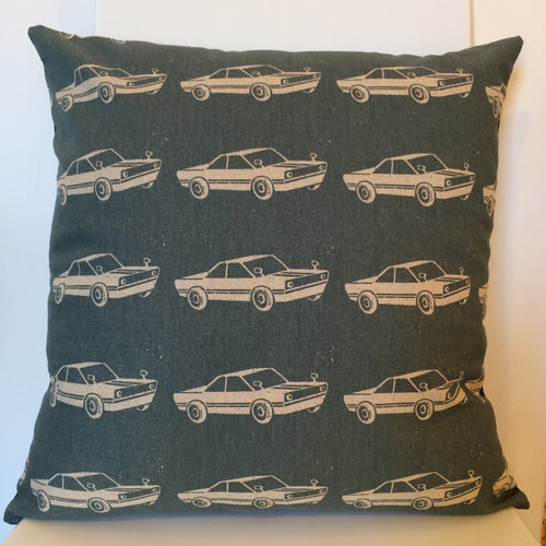 Cars Grey Cushion