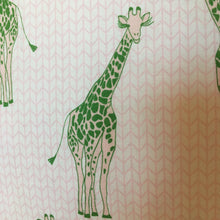 Load image into Gallery viewer, Giraffe Green