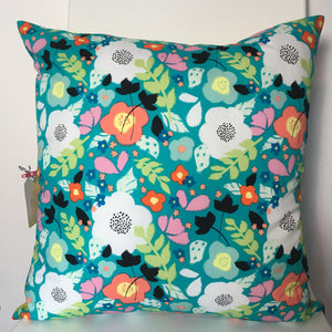 Floral Burst Cushion