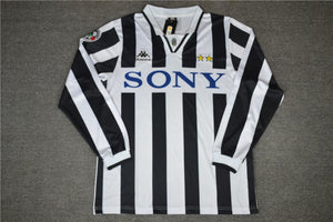 the best attitude 5e237 26fdc Juventus 1996 Home Jersey (Long Sleeve)