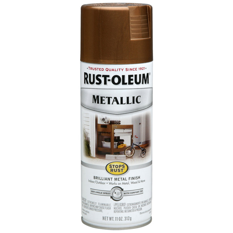 Stops Rust Outdoor Metallic Sprays
